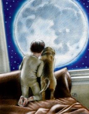 lua-menino-cachorro-davidburk